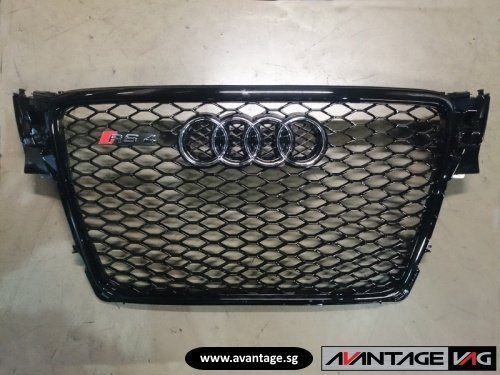 A4 B8 aftermarket RS front grille
