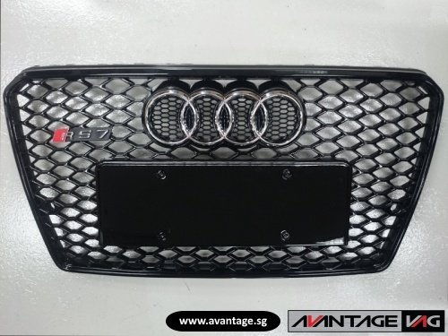 A7 C7 aftermarket RS grille