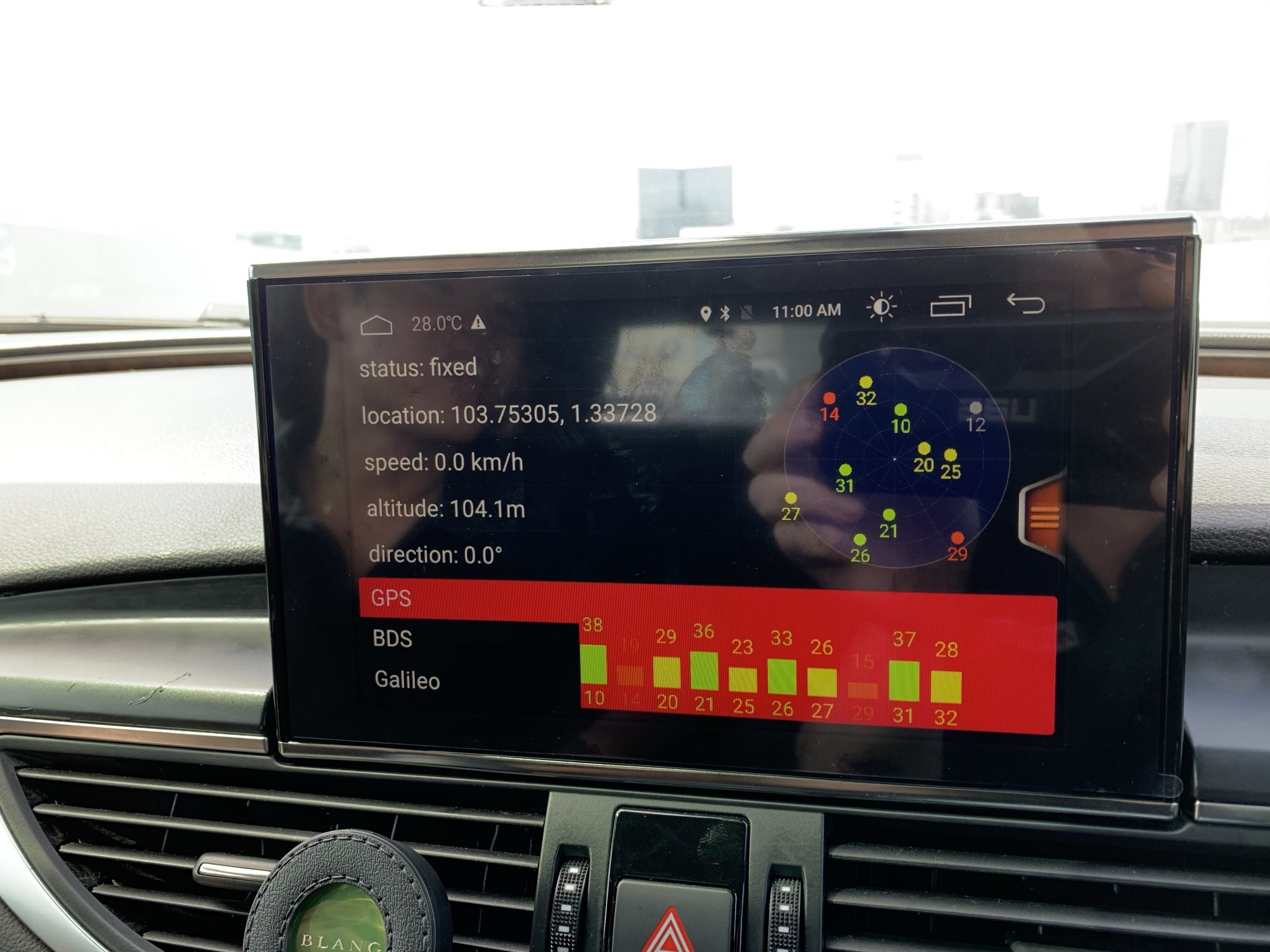 Android MMI for Audi