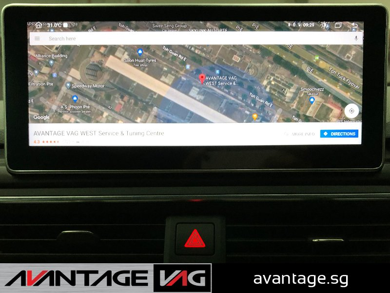 Audi A4 A5 B9 Android Touchscreen