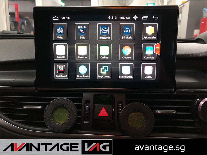 Audi A6 A7 C7 Android Touchscreen