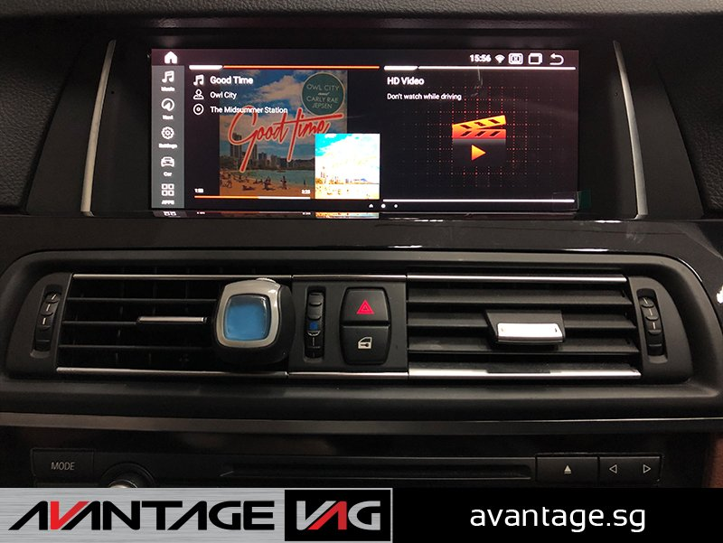 BMW 5 Series F10 Android Touchscreen