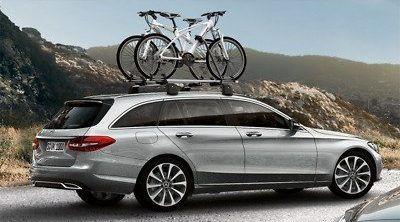 mercedes roof bicycle rack