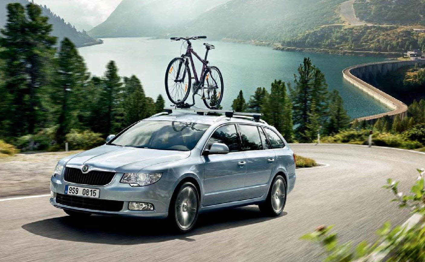 skoda bicycle rack
