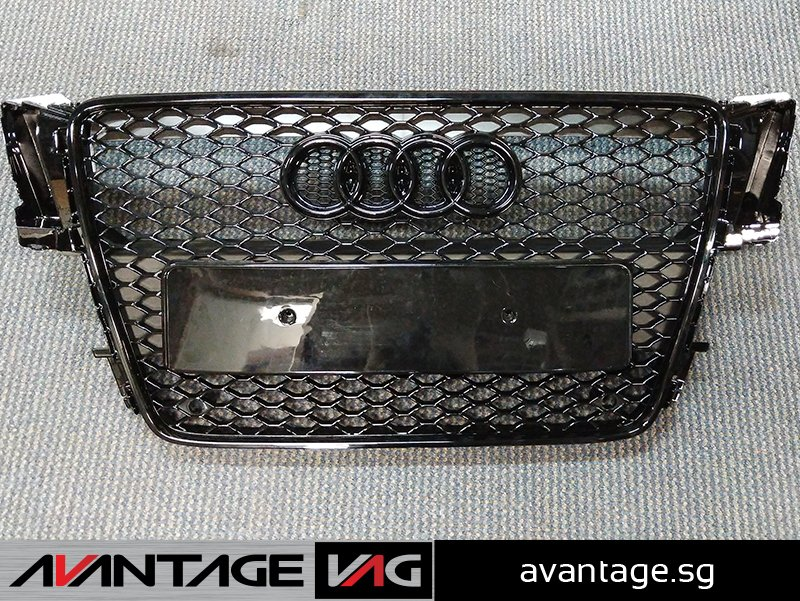 A5 B8 aftermarket RS grille